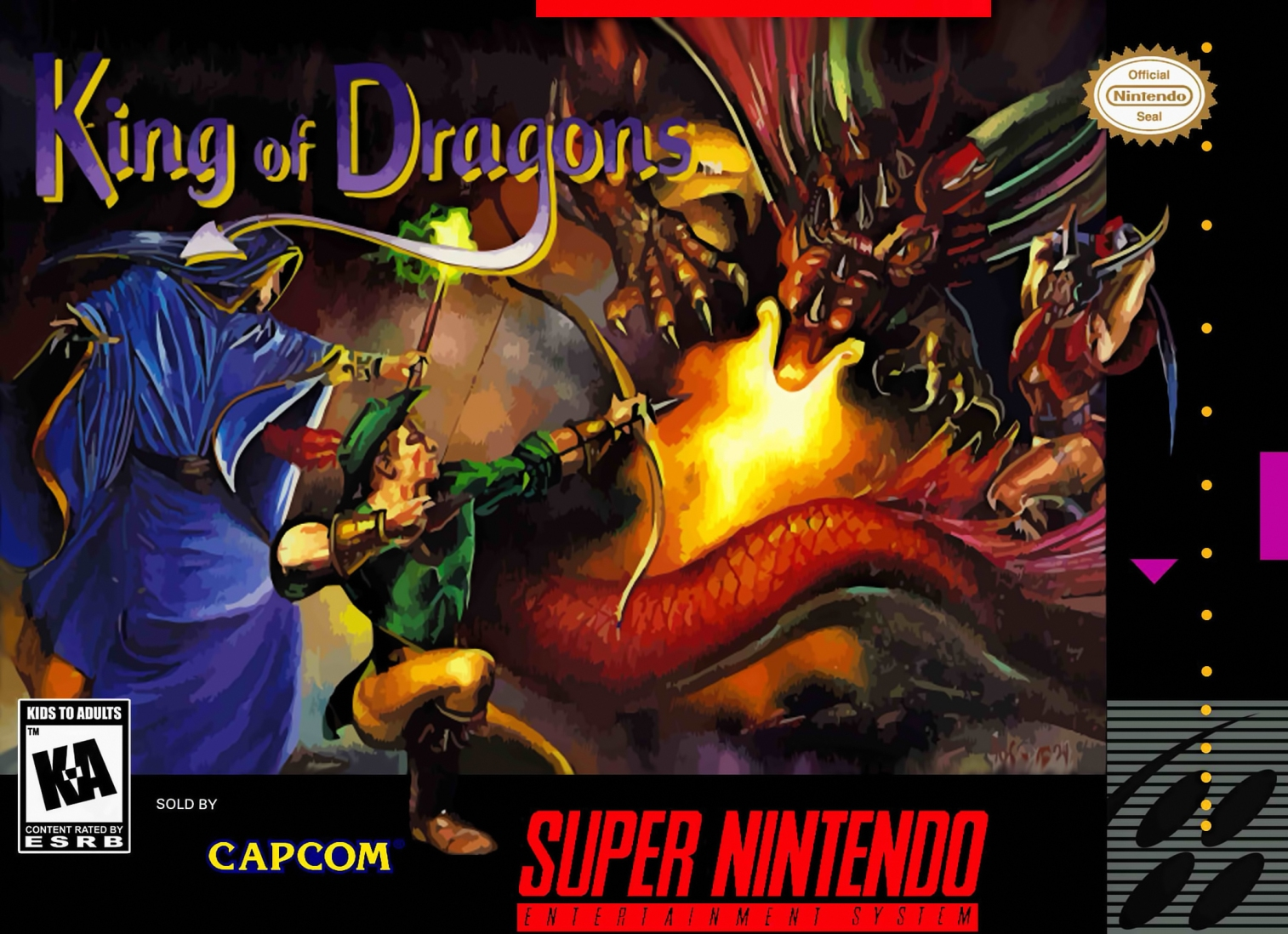 Snes Review King Of Dragons Retrogame Man