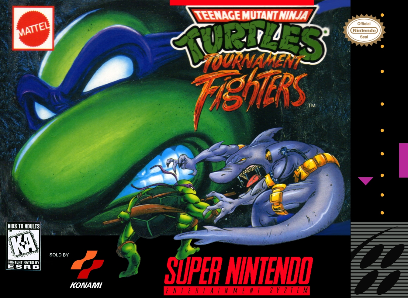 Snes Review Tmnt Tournament Fighter Retrogame Man